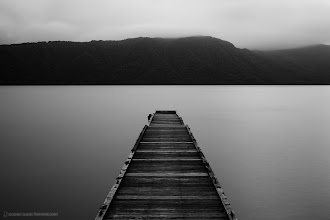 Photo: Shot at Towadako (Lake) in Aomori Prefecture, with an ND400 at dusk for a two and a half minute exposure.