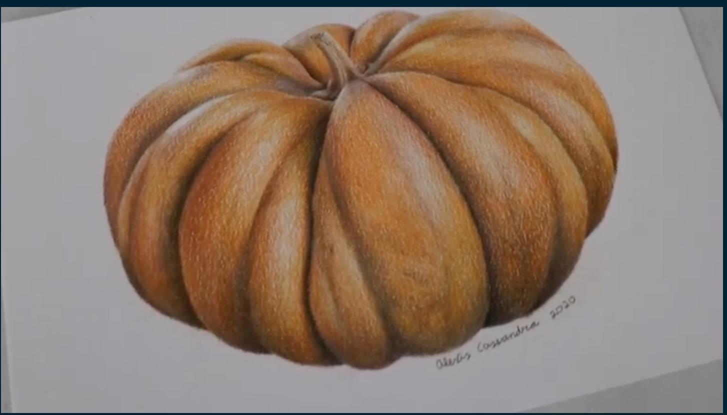 pumpkin drawing ideas for beginners