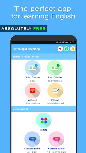 English Listening and Speaking 9.23 screenshots 1