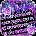Galaxy Liquid Droplet Keyboard Theme icon