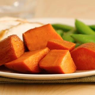 Slow Cooker Sweet Potatoes.