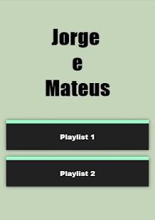 Letras de músicas de Jorge e Mateus - náhled