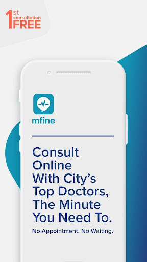 mfine - Consult Top Doctors from Best Hospitals 1.2.3 gameplay | AndroidFC 1