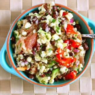 Black Bean, Quinoa and Citrus Salad.