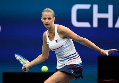 Karolina Pliskova moet er heel hard voor werken, maar wint wel van Naomi Osaka