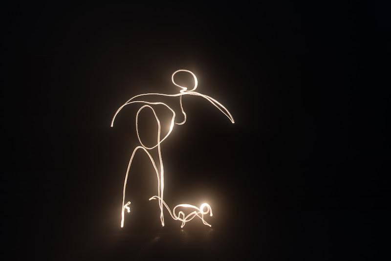 giocare con la luce di Schivio