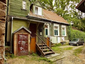 Photo: 1862m.  Nikolajaus Rericho senelis Fridrichas Rerichas persikėlė gyventi į Rygą. Čia Stabu (liet. Stulpų) gatvėje  kažkurį laiką viename iš šių dviejų namų gyveno Fridrichas Rerichas. Tai tas pats namas iš kitos pusės.