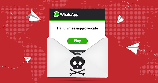 Truffa WhatsApp: virus nascosto in un messaggio vocale