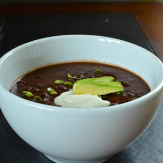 Fast and Simple Black Bean Soup