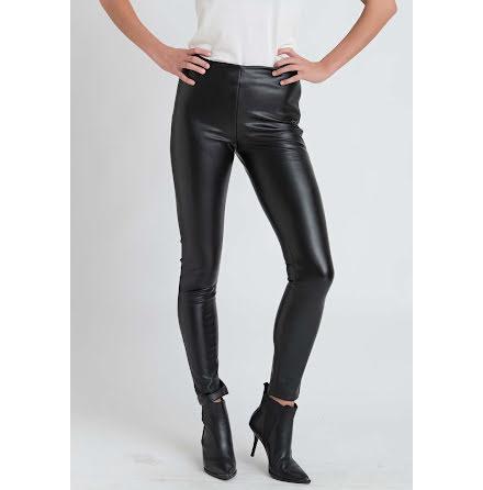 Dry Lake Sansa trousers black faux leather