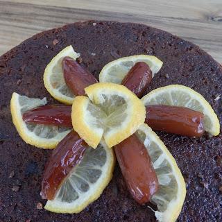 Nutty Tamarind & Date Cake.