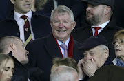 Sir Alex Ferguson attends the UEFA Champions League Round of 16 First Leg match between Manchester United (Man U) and Paris Saint-Germain (PSG) at Old Trafford stadium on February 12, 2019 in Manchester, England.