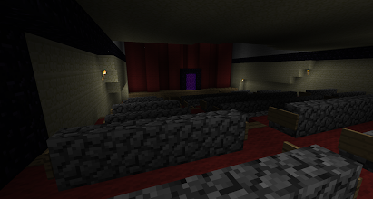 Photo: the interior of Ron Smalec's Sydney Opera House. It is part of the Superheroes Adventure Map: http://www.minecraftforum.net/topic/344730-adv-minecraft-superheroes/