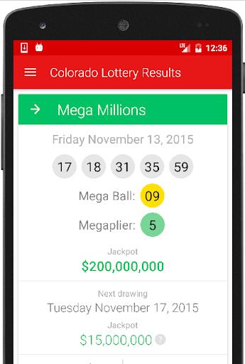 Colorado Lottery Results