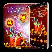 Diwali Crackers Launcher Theme