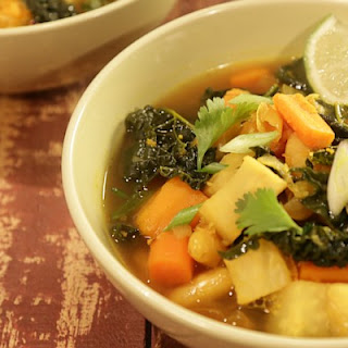 Magic Root Vegetable Soup