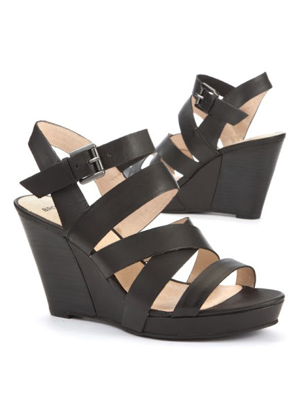Photo: Bronx Strappy Black Super High Wedge Now £59.99 http://bit.ly/Nk6UMS