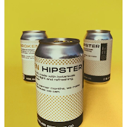 Canned Indie Ale House Broken Hipster