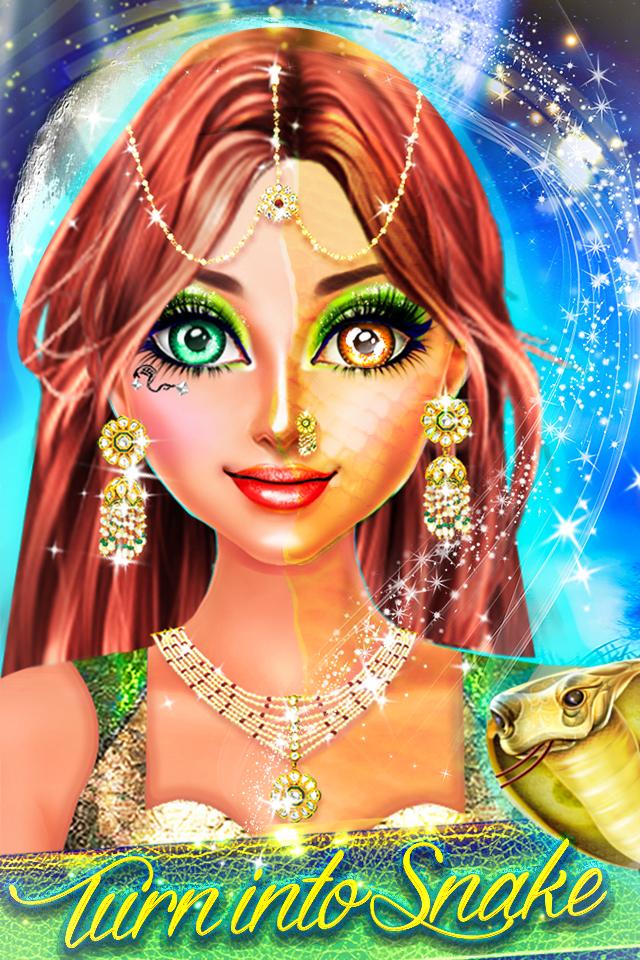 Snake Girl Salon - Naagin Game Android 1