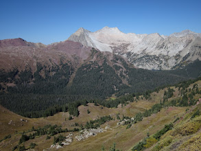 Photo: Snowmass mtn and surrounding peaks.