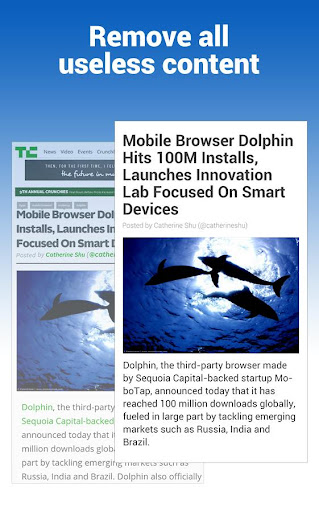 Dolphin Reader for Android screenshot 2