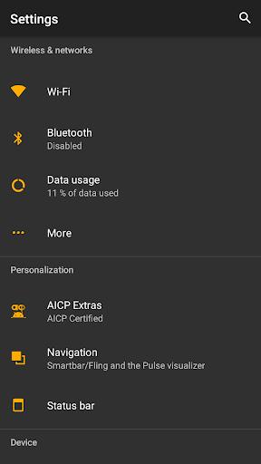 Default Dark Theme for Substratum 7.1 screenshots 7