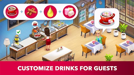 My Cafe: Recipes & Stories - World Cooking Game APK screenshot thumbnail 10