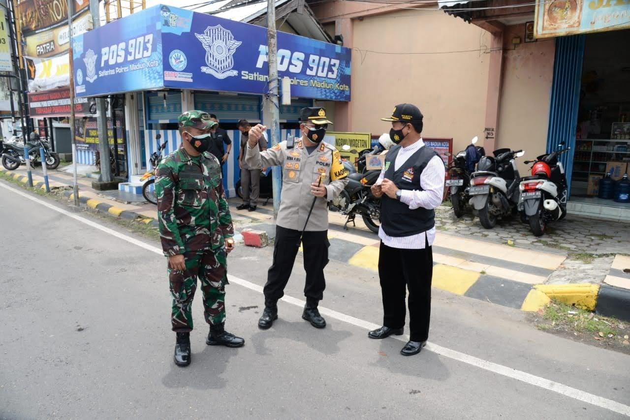 Ingin Masuk Ke Kota Madiun Wajib Tunjukan Bebas Covid-19, Jika Tidak Silahkan Balik Kanan