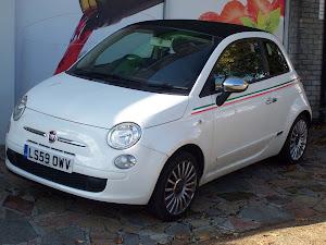 2009 FIAT 500 C POP