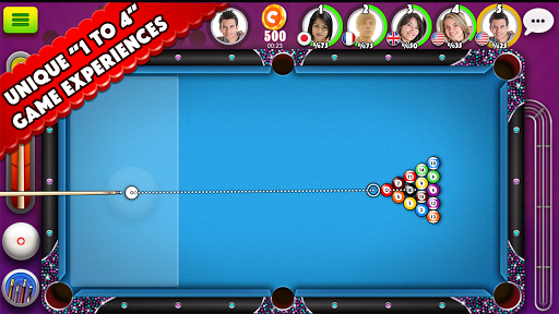 Pool Strike Online 8 ball pool billiards with Chat screenshot 1