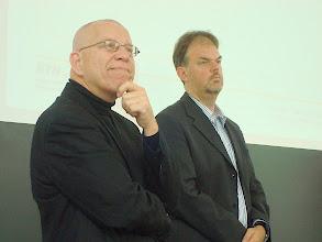Photo: Tapio Onnela (Univ. of Turku) und Gerold Ritter (adfontes.uzh.ch)