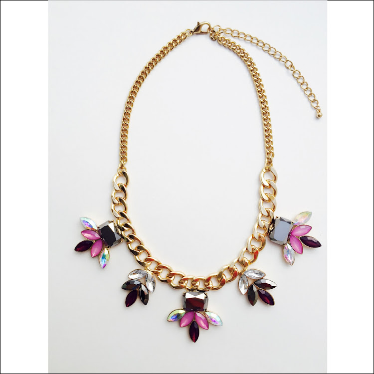 N008 - M. Petra Rae Rhinestone Necklace