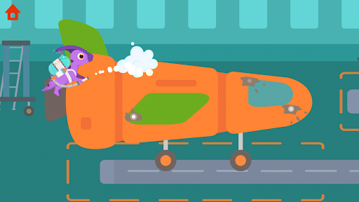 Dinosaur Airport - Flight simulator Games for kids 1.0.4 screenshots 3