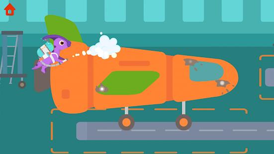 Dinosaur Airport - Flight simulator Games for kids