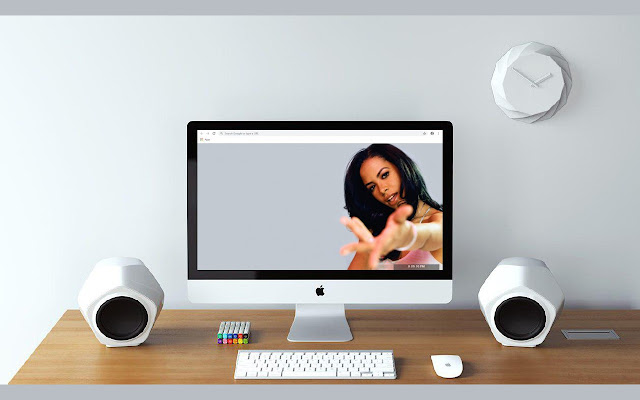 Aaliyah New Tab & Wallpapers Collection
