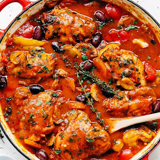 Chicken Cacciatore With Boneless Chicken Breasts Recipes.