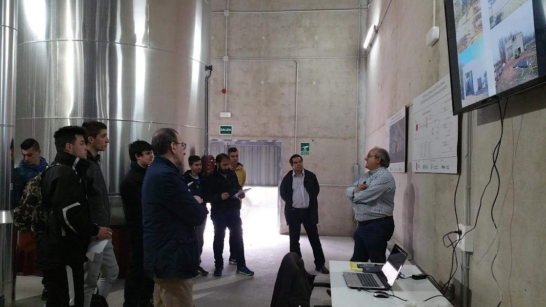 Visita a central biomasa