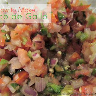 How to Make your own Pico de Gallo