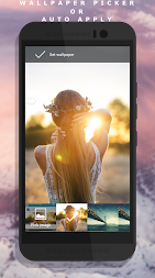 Auto Wallpaper Changer (CLARO Pro) APK screenshot thumbnail 7