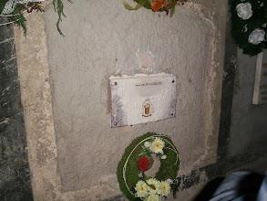 Photo: hrob biskupa Buzalku - pôsobil aj v Trnave