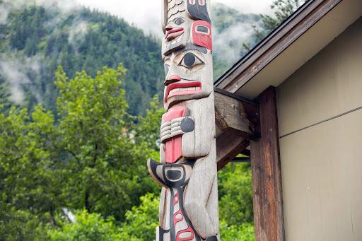 juneau-totem-pole2.jpg - A totem pole in Juneau, Alaska.