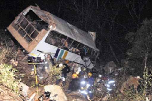 11 ZCC members die in bus crash