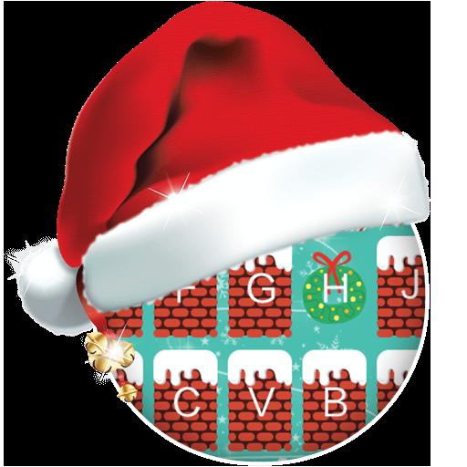 Chimney On Christmas Keyboard Theme Icon