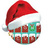 Chimney On Christmas Keyboard Theme Icon