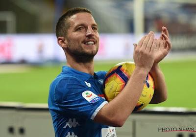 Dries Mertens est entré dans l'histoire (belge) de la Serie A avec son triplé