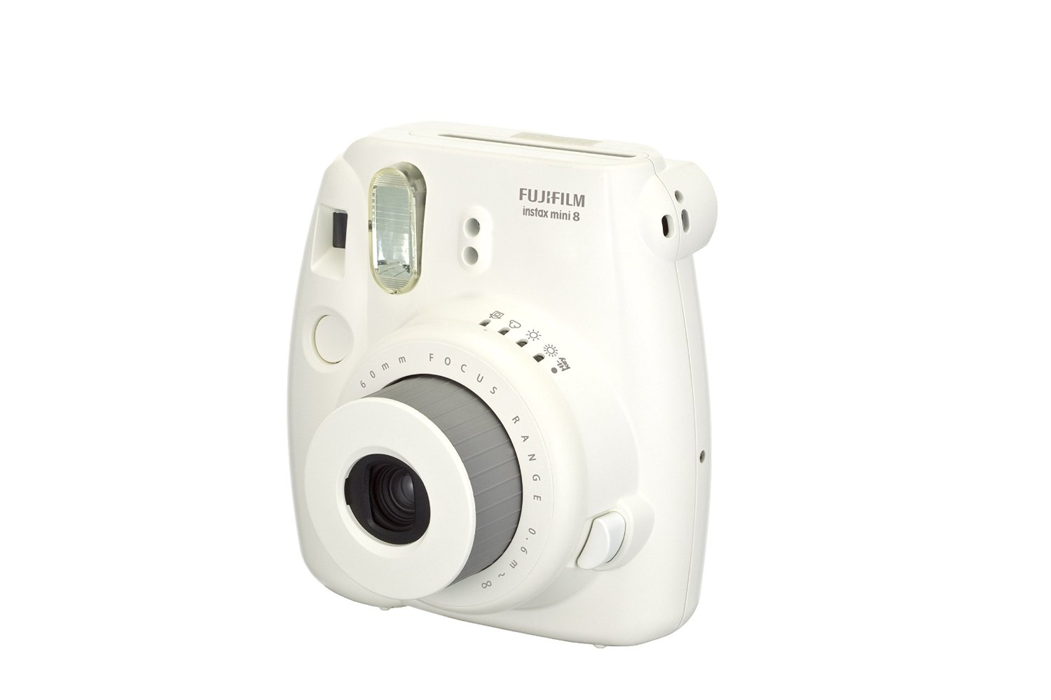 White Fujifilm INSTAX Mini camera