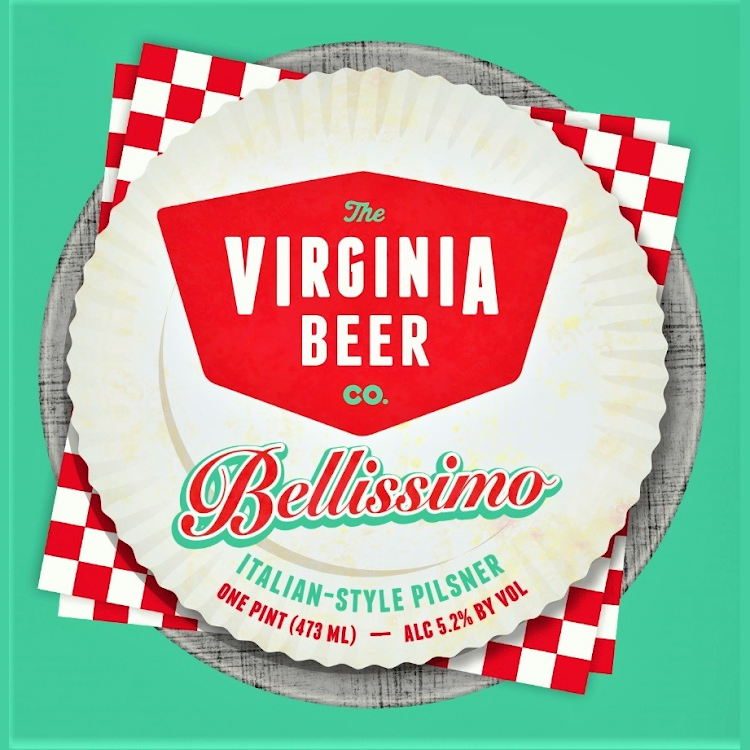 Logo of Virginia Beer Co. Bellissimo