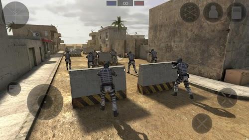 Screenshot 1 Zombie Combat Simulator 1.2.5p APK+DATA MOD