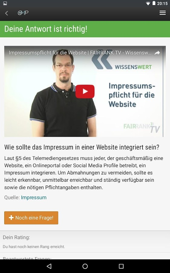 Online-Marketing-Pauker- screenshot
