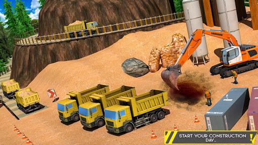 Sand Excavator Offroad Crane Transporter android2mod screenshots 6